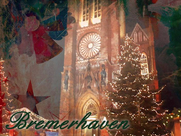 Weihnachtsmarkt Bremerhaven – Lichterwelt und heiße Schokolade, Foto: Andre Kleinhanns