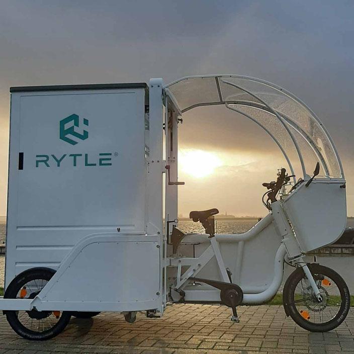 Nachhaltige Crowdlogistik mit dem RYTLE Lastenrad, Foto: Hochschule Bremerhaven