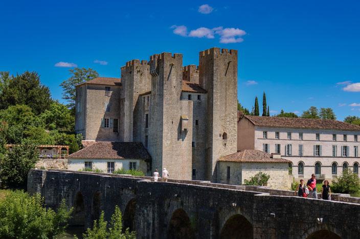 Moulin des tours Albret Aquitaine Barbaste Nérac