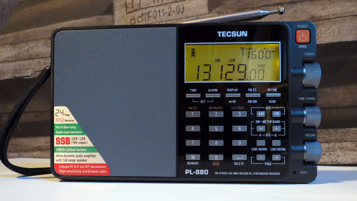 Weltempfänger TECSUN PL880