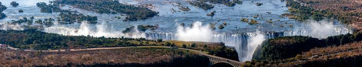 Victoria Falls, Zambia-Zimbabue