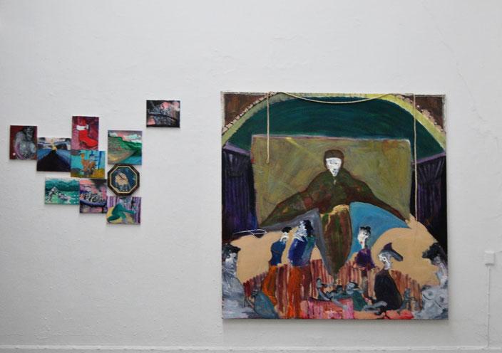 HFBK Hamburg Kunst,Schutzmantelmadonna, Maria, Kirche: CHrist. Pascal Brinkmann, Austellung, Wanduhr