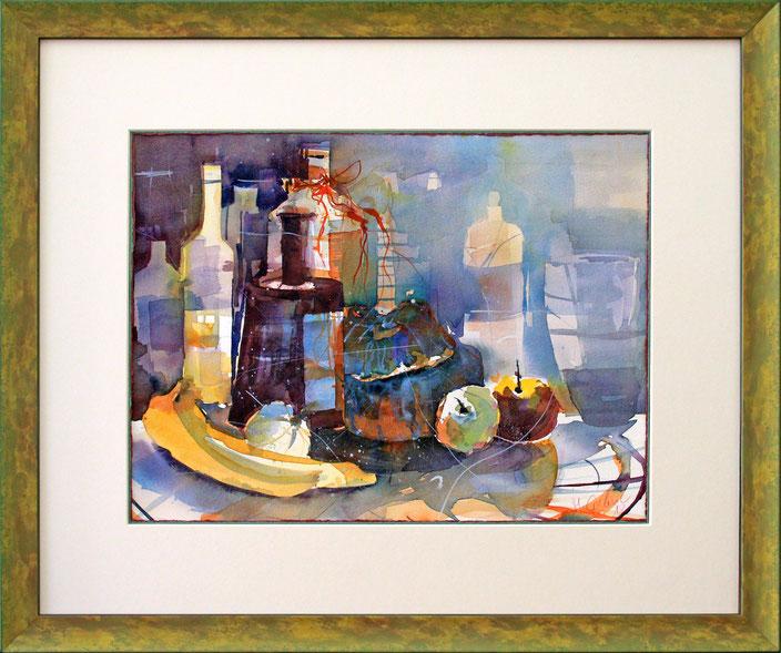 """""""Stillleben"""" (Aquarell), 60 cm x 50 cm"""