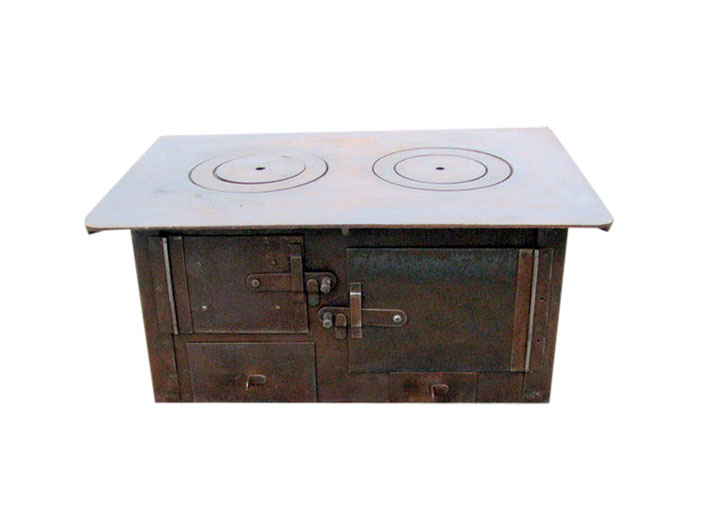 Küchenherd Model 1900 Backen Kochen Wärmen wie der Große