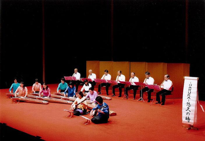 茨城県三曲協会,茨城県,琴,伝統文化,伝統音楽,琴,尺八,はるねの会