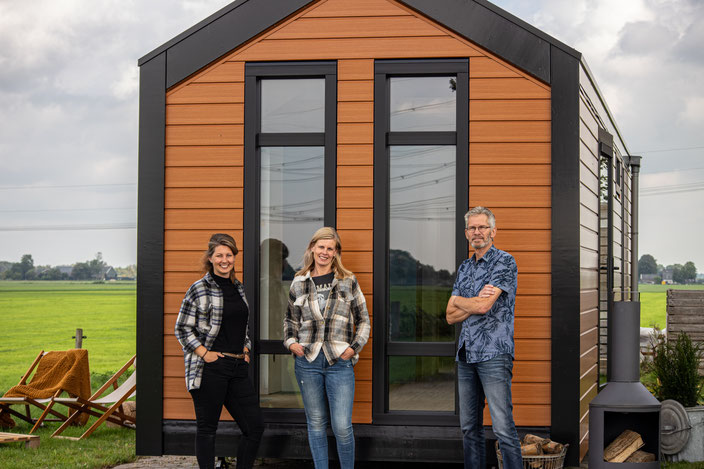 Cees Würsten bouwt Tiny House