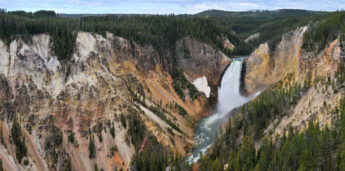 Yellowstone River Lower Fall