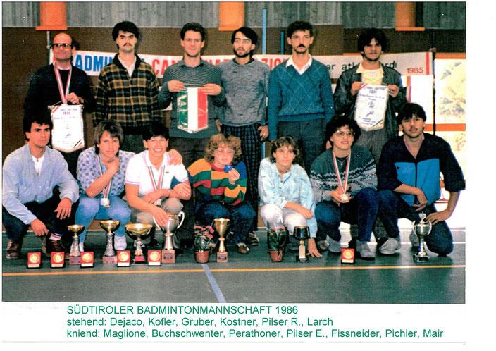 Walter Gruber - stehend 3. von links