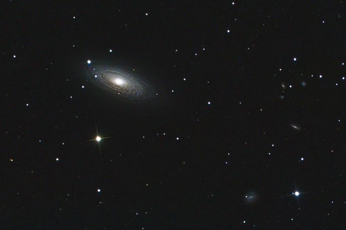 NGC2841 - aufgenommen am 13. Februar 2019 in der Sternwarte Flumenthal (9x900s LUM)