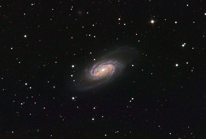 Die Galaxie NGC2903 im Sternbild Leo - aufgenommen am 06. April 2018 in der Sternwarte Flumenthal. Luminanz 13x600s ungebinnt, -25Grad mit Darks und Flats - RGB je 6x300s 2x2 gebinnt mit Darks und Flats