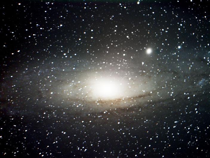 Die Andromeda Galaxie - aufgenommen mit Hyperstar 20x30s am 22.08.2015