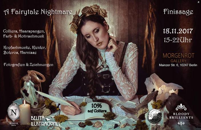 Fairytale Nightmare Pop up Store von Bloody Brilliants und Nebula Berlin, Handmade Design Steampunk