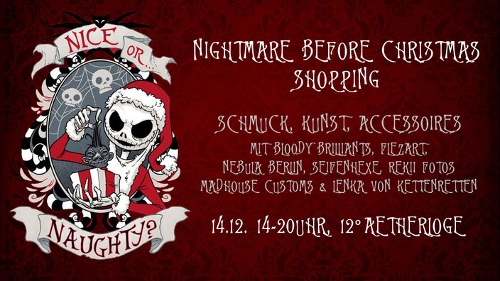 Nightmare before Christmas Pop-up Store