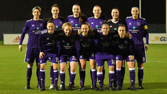 Anderlecht Women Team 2017