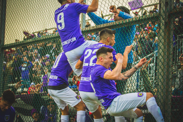 CSD Concepción Goal Celebration 2018
