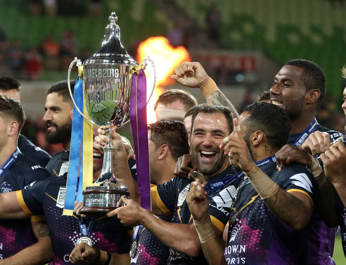 MELBOURNE STORM WORLD CLUB CHAMPIONS 2018
