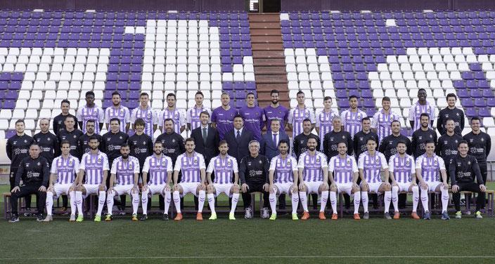 Real Valladolid de Primera 2018