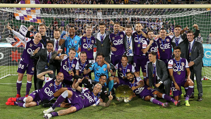 Perth Glory A-League Premiers 2018/2019