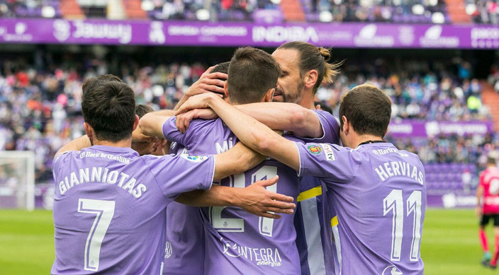 Real Valladolid C.F. Goal Celebration