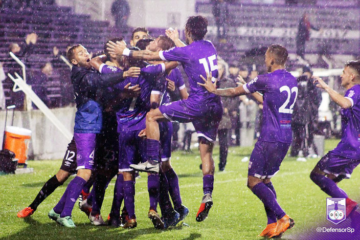 Defensor Sporting Team | Goal Celebration