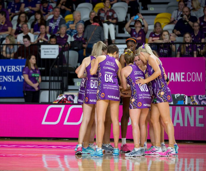 Queensland Firebirds Team