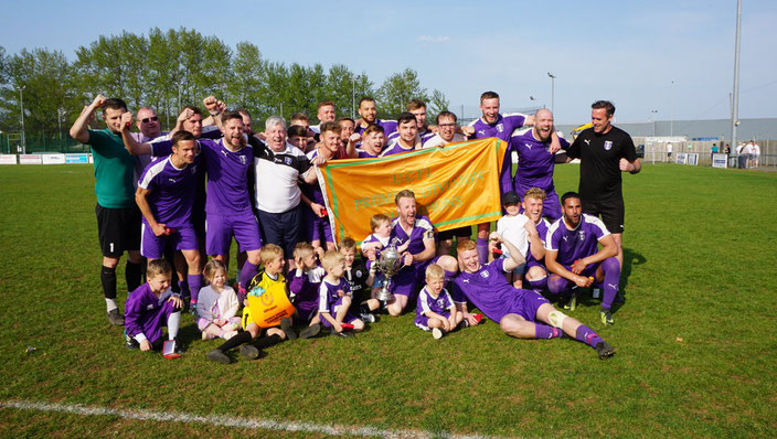 Daventry Town F.C Team UCL Premier Division Champions 2019