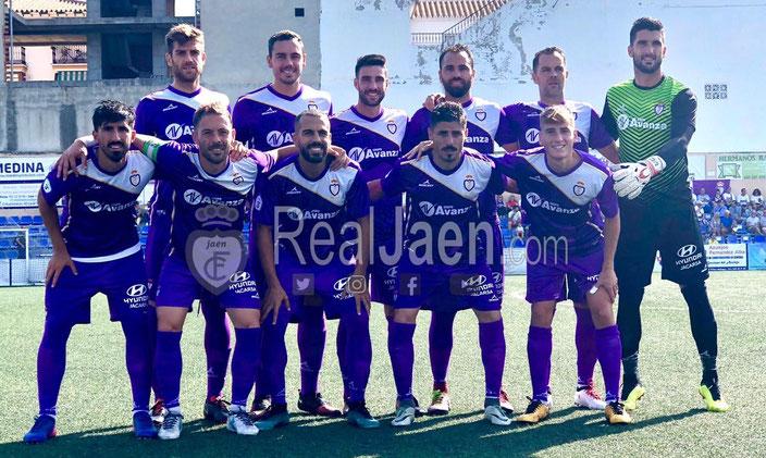 Real Jaén team 2018
