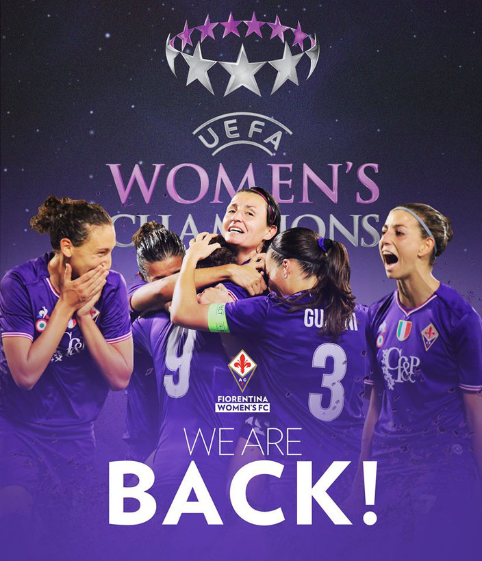 Fiorentina Women back in Champions 2018