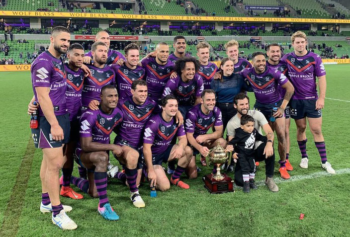 The Michael Moore Trophy stays in Melbourne