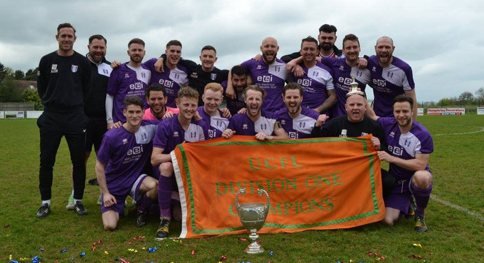 Daventry Town F.C UCFL Division One Champions 2017