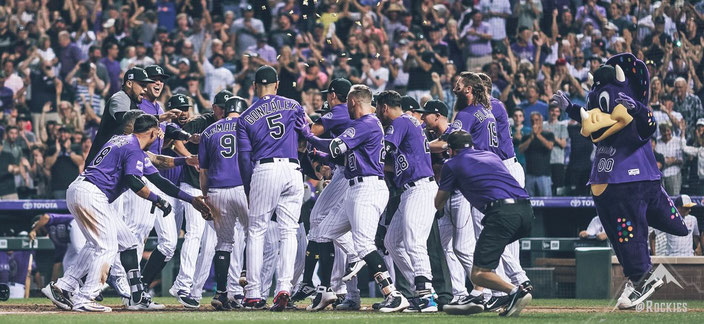 Colorado Rockies Team 2018