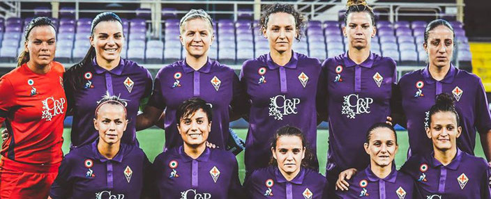 Fiorentina Women Team 2018