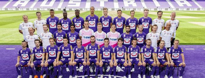Austria Wien Team 2018 - 2019