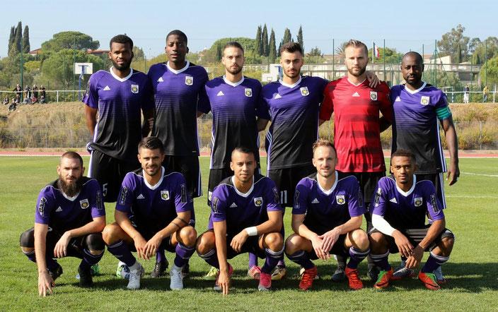 Istres Football Club Team 2018