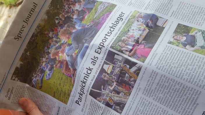 Märkische Oderzeitung, Bericht: Mara Kaemmel 27.08.2017