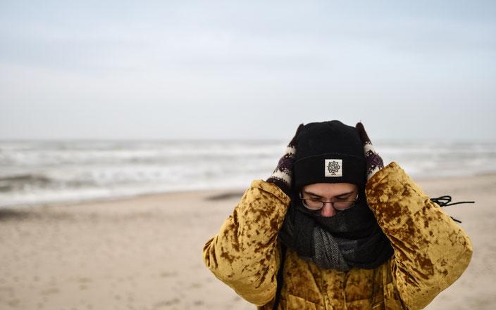 Titelbild: Strand in Dänemark