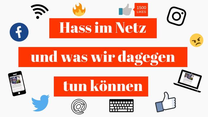Titelbild: Hass im Netz und was wir dagegen tun können RiekesBlog.com