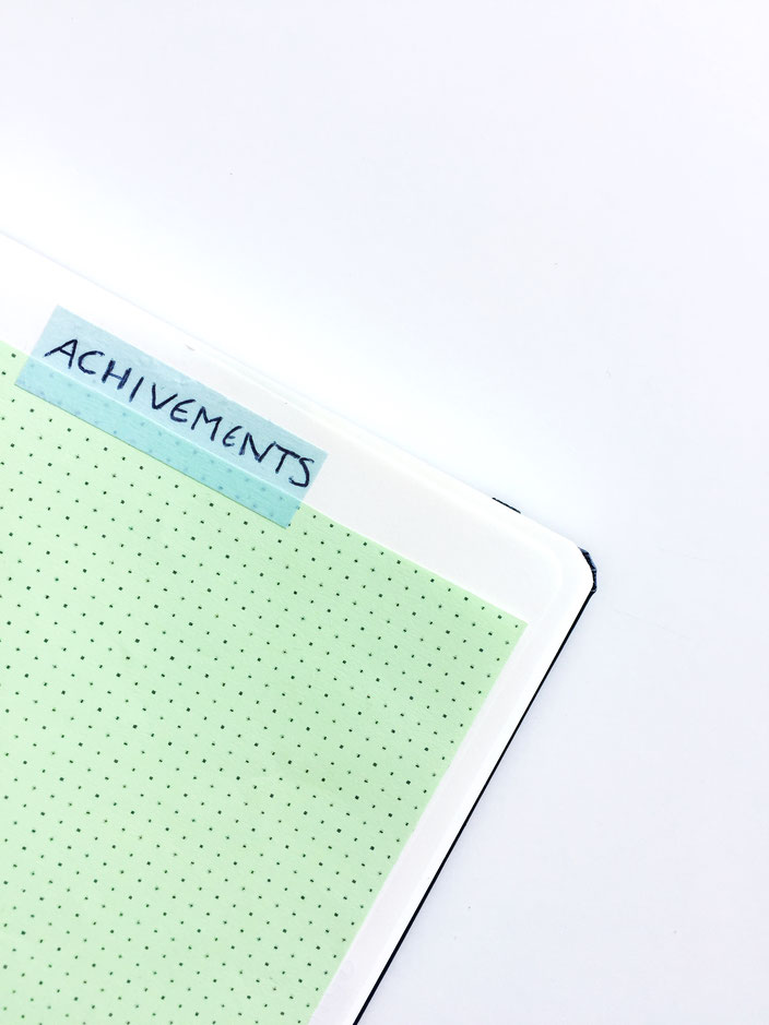 Achivements BulletJournal