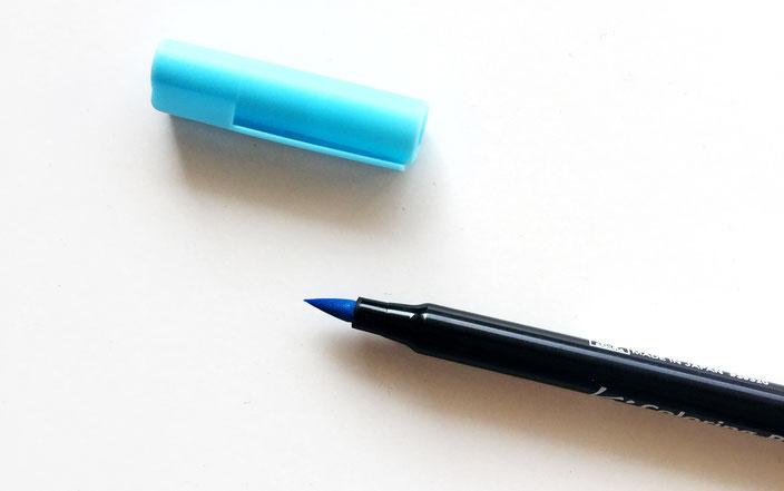 Pinselstift, Kalligraphie