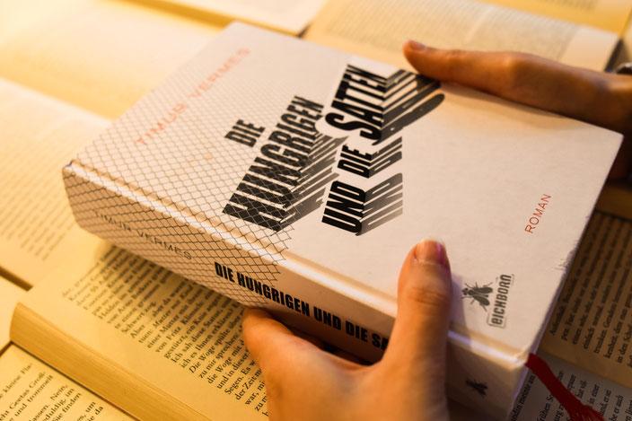 Vorschaubild: Mit Timur Vermes im Gespräch über Hungrige, Satte und wann Satire nicht mehr angebracht ist RiekesBlog.com