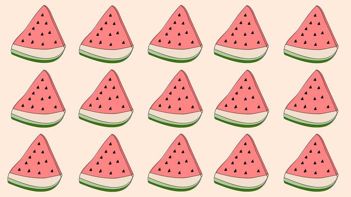 Design 3: Wassermelonen