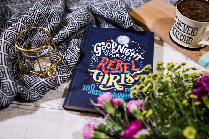 Buchtipp: Goodnight Stories for Rebel Girls