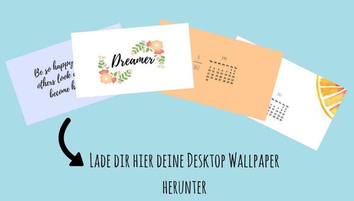 Lade dir hier deine Desktop Wallpaper herunter