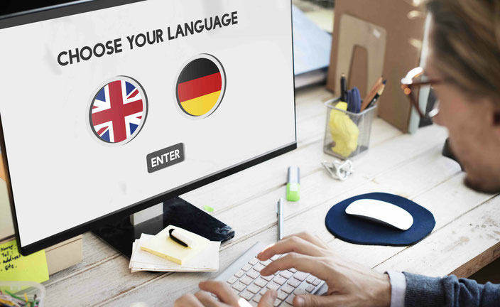 Speak English in Wängi - Übersetzung
