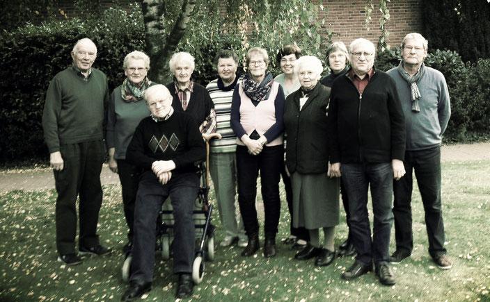 Der Seniorenchor im Oktober 2016 (Foto: Reinhard Niebur-Ossenbeck)