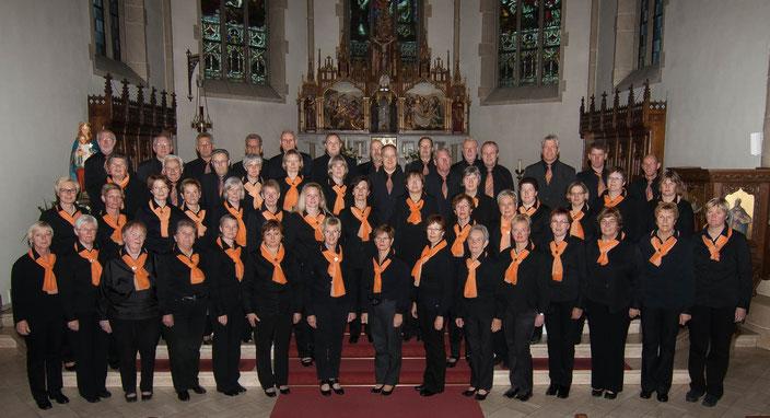 Der Kirchenchor 2013