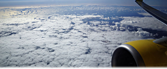© Welt der Synoptik | Überflug über den Atlantik.