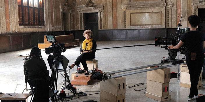 Interviewing Angela Davis