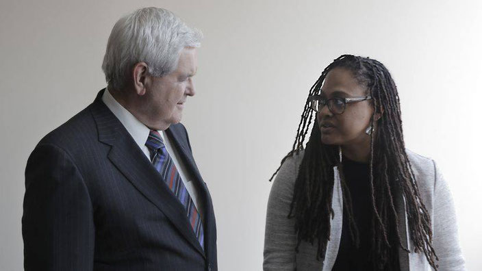 Ava DuVernay And Newt Gingrich