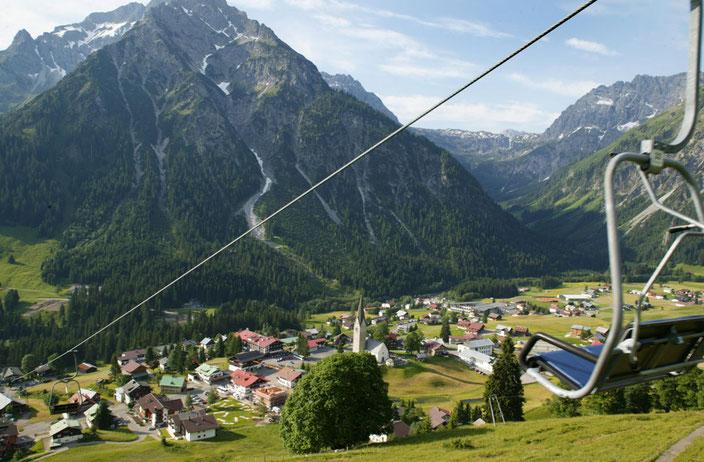 Zaferna Lift in Mittelberg – mit diesem können Sie auch Ihre Tour zu unserer Max' Hütte beginnen!